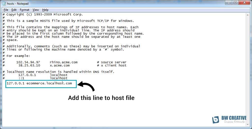 Subdomain in localhost using Apache Xampp